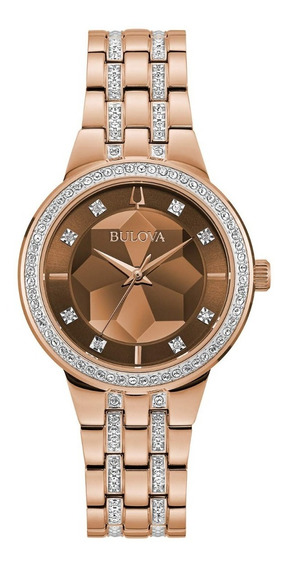 Relógio Bulova Phantom Swarovski 98l266 Feminino + Nfe
