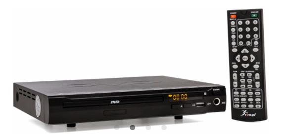 Dvd Player Entrada Usb Com Controle Karaoke Rw Kp-d103 Seo