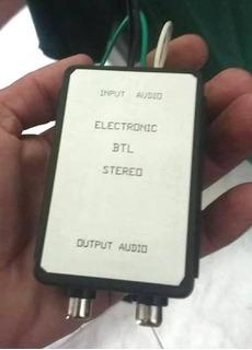 Btl Stereo Convertidor De Señal Alta Señal Baja Rca