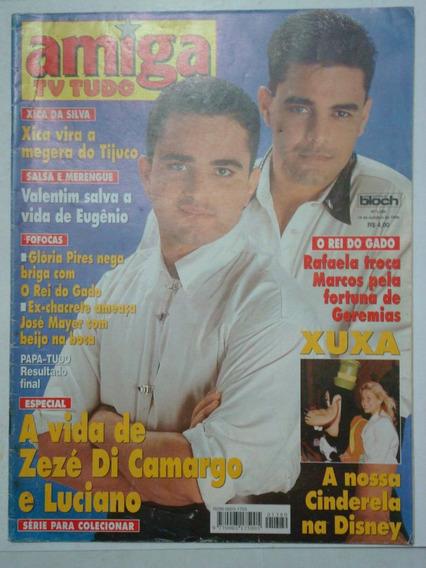 Revista Amiga Nº 1380 - Xuxa Na Disney; O Rei Do Gado