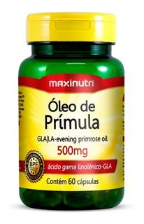Óleo De Prímula 500mg - 60 Cápsulas