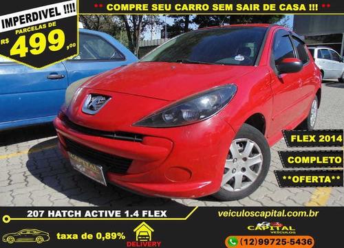 Imagem 1 de 14 de Peugeot 207 Active 1.4 Flex 8v 5p