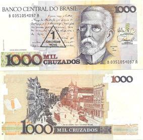 100 Billetes Brasil 1 Cruzadonovo / 1000 Cruzados Pick 216b