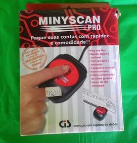 Minyscan Pro Leitor De Código De Barras Antigo