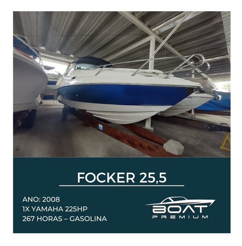 Focker 25,5 , 2008,  1x Yamaha 225hp - Triton - Magnum