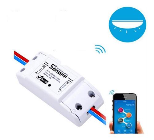 Imagen 1 de 1 de Sonoff Interruptor Wifi Automatización Domótica