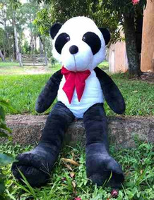 Urso Gigante Pelúcia Panda Grande 1,20 Metros - Nacional