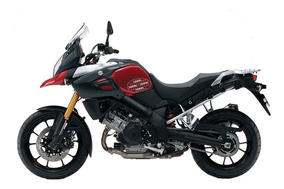 Adesivo Tanque Lateral Universal Vstrom 2008-2019 Suzuki