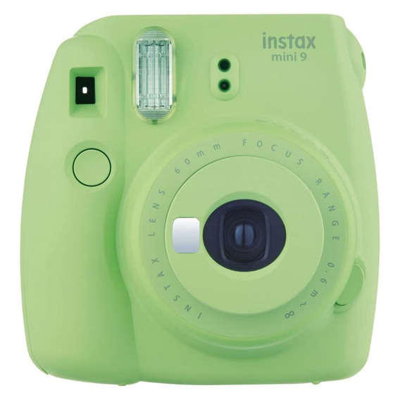Camera Instantanea Fujifilm Instax Mini 9 Verde Lima