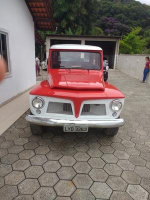 Rural Willys 4 X 4 Traçada E Reduzida Troco (leia O Anuncio)