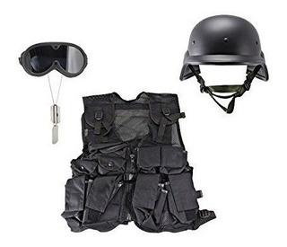 Swat Táctico Completo Establecido Por Kids-army