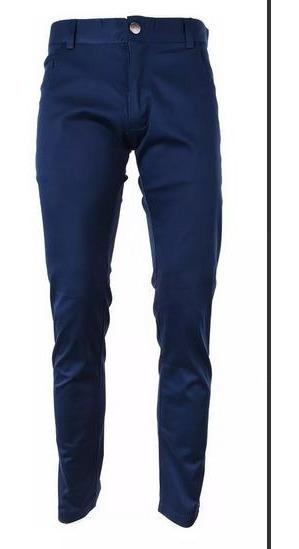 Pantalon Azul Chupin Elastizado Valkymia Jean Excelente Cali