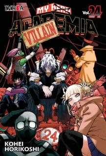 My Hero Academia - N24 - Ivrea - Sobrecubierta - Manga