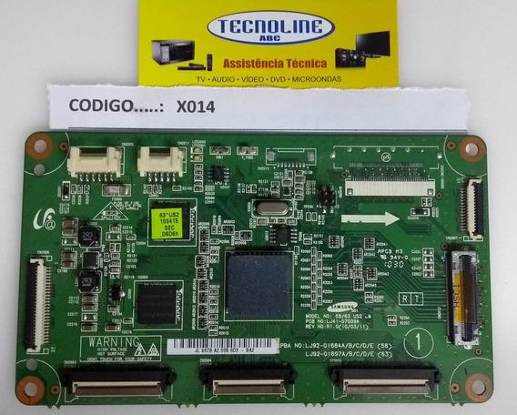 T-con Pl63c7000 Lj92-01684 Lj92-01697a Lj41-07009a Cód. X014