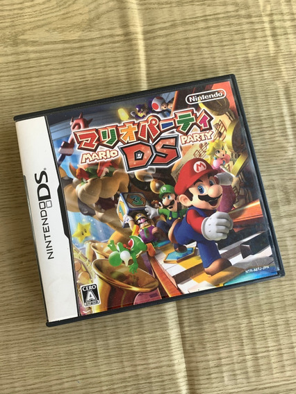 Nintendo Ds Mario Party Japonês