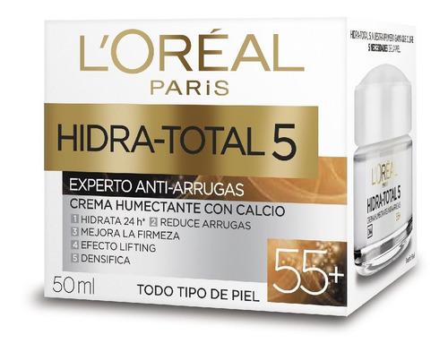 Crema Humectante Loreal Hidra-total 5 55+