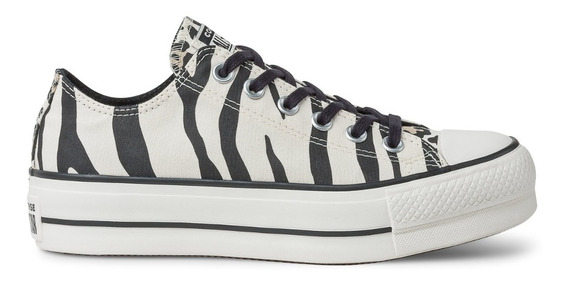 Zapatillas All Star Dama Cebra - Exclusivas