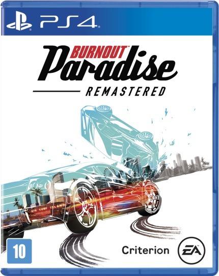 Burnout Paradise Remastered (mídia Física) - Ps4 (novo)