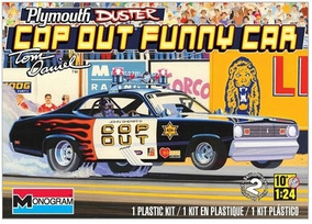 Carro Plymouth Duster - Cop Out Funny Car 4093 - Revell Amer