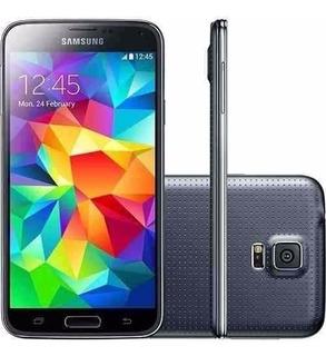 Samsung Galaxy S5 G900 G900m 16gb Preto Otimo Estado