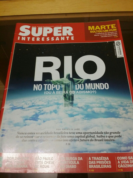 Superinteressante - Rio No Topo #344 Março 2015