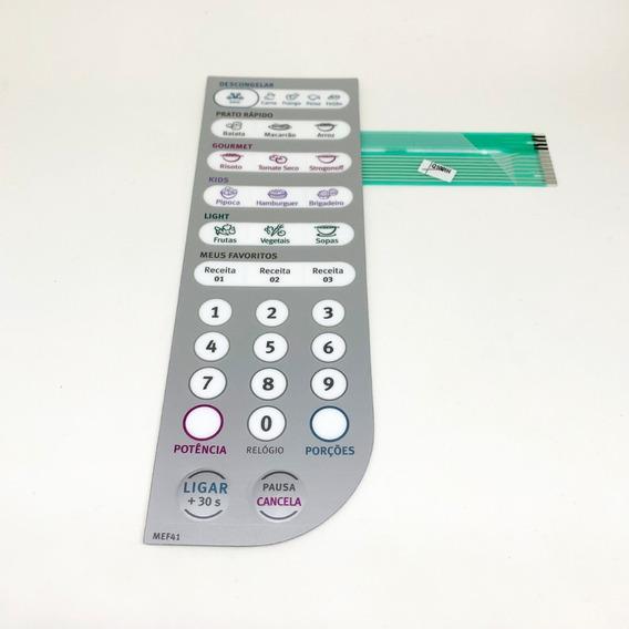 Membrana Teclado Painel Microondas Electrolux Mef 41