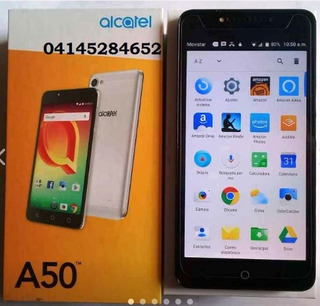 Telefono Celular Alcatel A50 Con Vidrio Templado