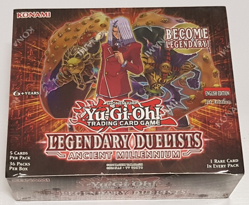 Yugioh! Yu-gi-oh! Caja Legendary Duelists Ancient Millennium