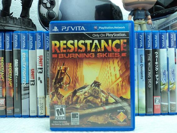 Resistance Burning Skies - Ps Vita - Em 12x Sem Juros !!!!