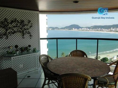 Imagem 1 de 30 de Apartamento À Venda Condomínio Tortugas - Praia Da Enseada - Guarujá - Ap1029