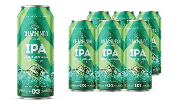 Cerveza Chachingo 473cc Pack X 12 Latas Ipa