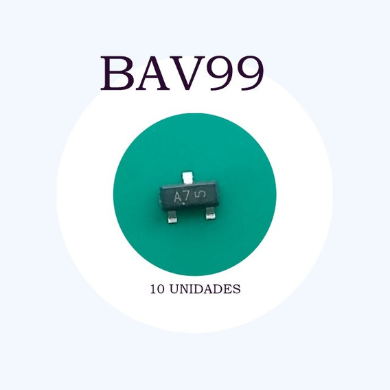 Bav99 (50 Unidades) Sot23 Original On
