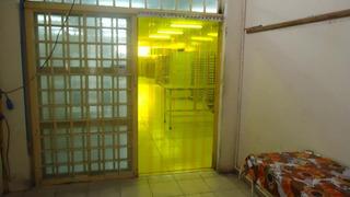 Cortina Amarelo Pvc Antinseto 1,10x 2,10 Frete Grátis