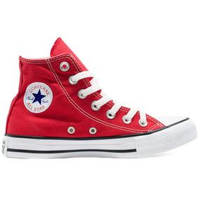 Tênis Converse Chuck Taylor All Star Hi Vermelho Original
