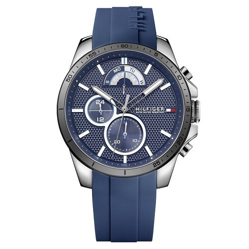 Relógio Tommy Hilfiger Azul Marinho Semi Novo