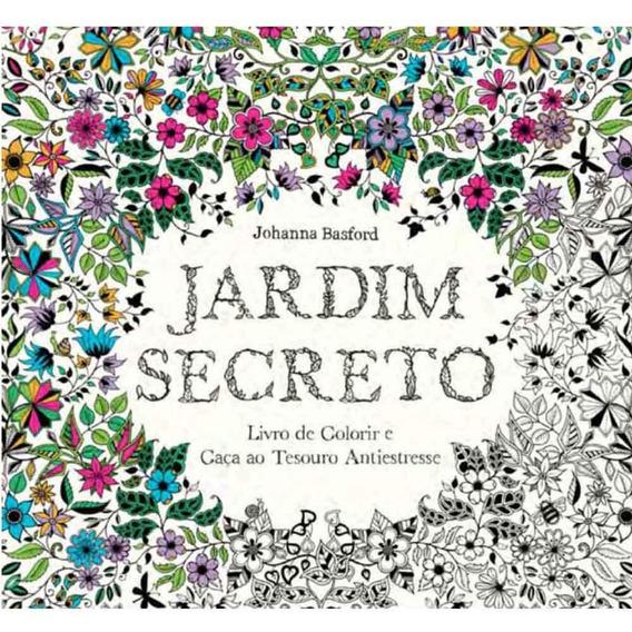 Jardim Secreto - Livro De Colorir