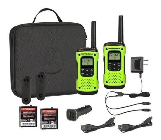 Radio Motorola T605 H2o Pack 2 Estuche - Sujetador Y Más ! !