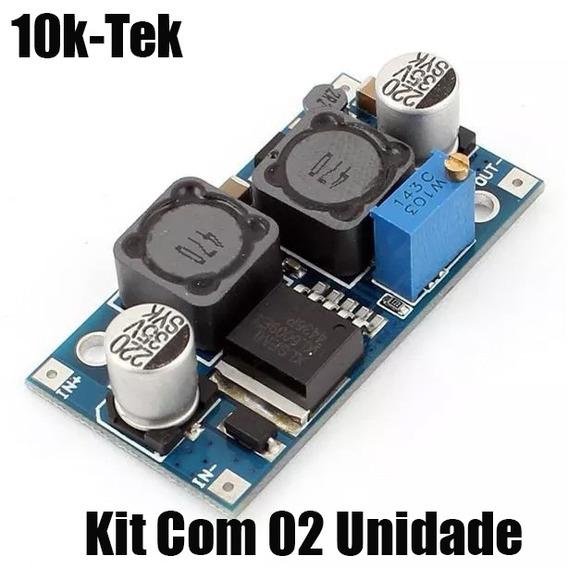 2x Xl6009 Conversor Dc Dc Step Up Boost Regulador Tensão