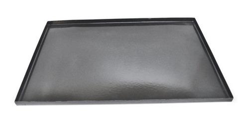 Imagen 1 de 5 de Bandeja Chapa Enlozada 45x70cm. Pack X 10 Unidades