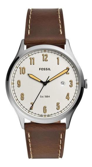 Relógio Fossil Masculino Forrester Prata Fs5589/0mn