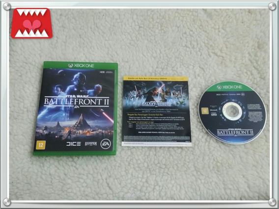 Jogo Star Wars Battle Front Ii Xbox One Mídia Física