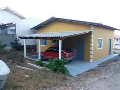 Casa Com Três Quartos, Sala, Cozinha, Garagem Biguaçu
