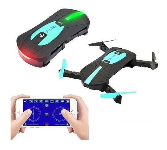 Drone Tira Selfie Jy018 De Bolso 2mp Camera