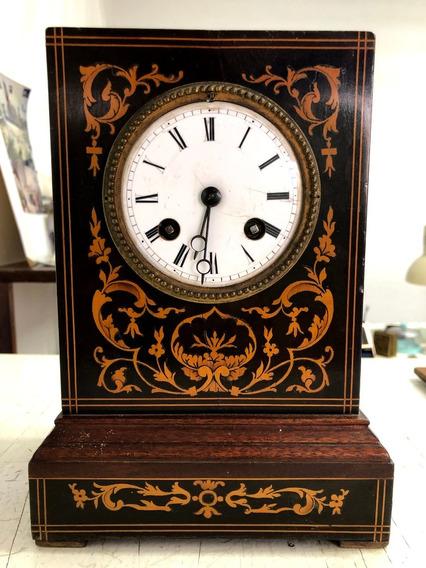 Reloj Francés De Dos Cuerdas