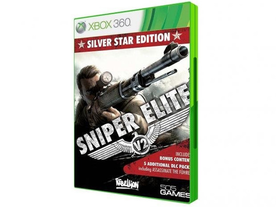 Sniper Elite V2 Silver Star Edition Xbox 360
