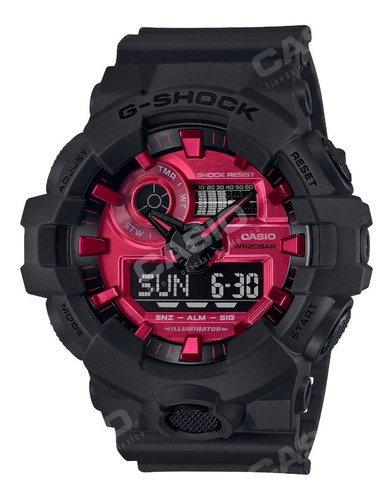 Imagen 1 de 9 de Reloj Casio G-shock Youth Ga-700ar-1a