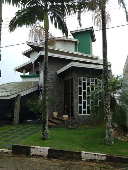 Casa Mobiliada Em Condomínio Alto Padrão Em Jacareí-sp - Cov210 - 33381315