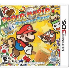 Paper Mario Sticker Star Semi-novo 3ds