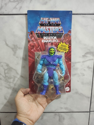 Masters Of The Universe Origins Esqueleto Mattel