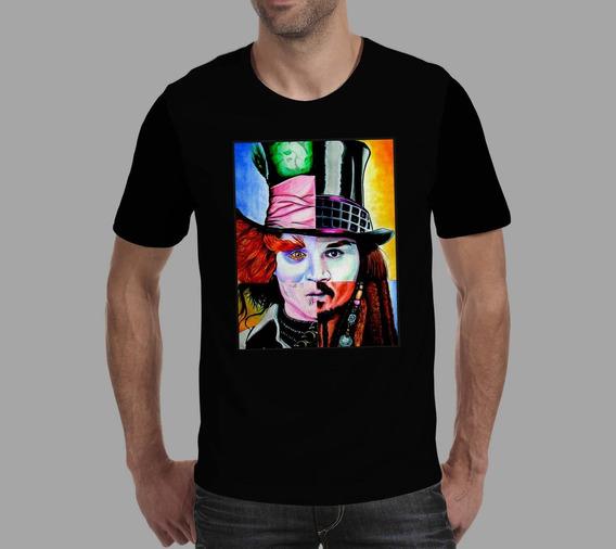 Camiseta Johnny Depp 2 - Preta